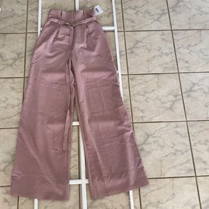 Missguided us size 8 tall high waisted trousers